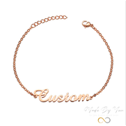 Name Bracelet/Anklet - MADE-BY-YOU (JEWELRY)