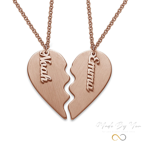 Special Love (Couple Heart) Necklace - MADE-BY-YOU (JEWELRY)