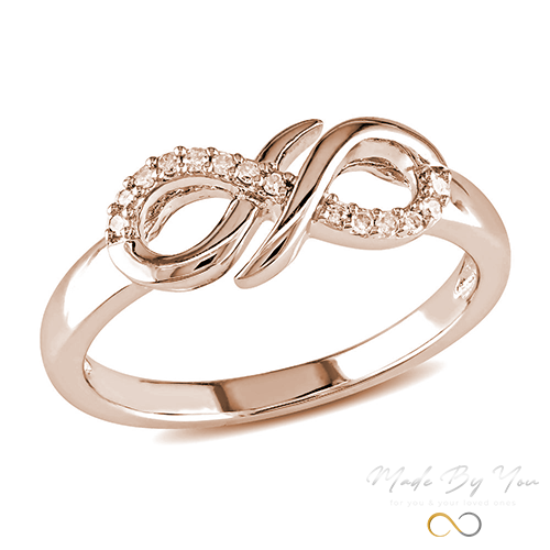 Diamond Infinity Ring - MADE-BY-YOU (JEWELRY)