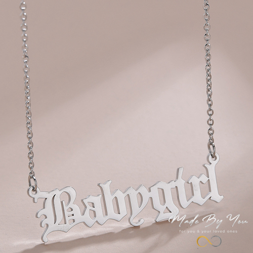 Name Necklace - MADE-BY-YOU (JEWELRY)