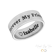 Personalized Wide Name Ring - MADE-BY-YOU (JEWELRY)
