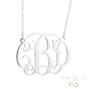 Letter Identity Name Necklace - MADE-BY-YOU (JEWELRY)