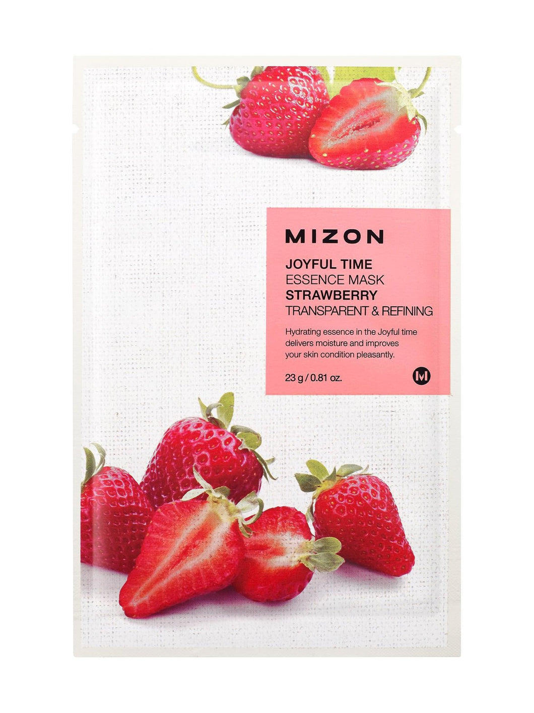 Mizon Joyful Time Essence Strawberry Mask