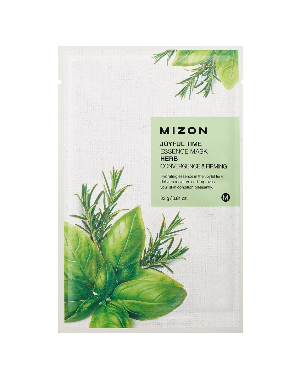 Mizon Joyful Time Essence Herb Mask
