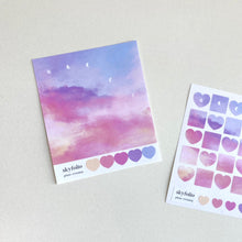 Lataa kuva Galleria-katseluun, Plum Evening Sticker