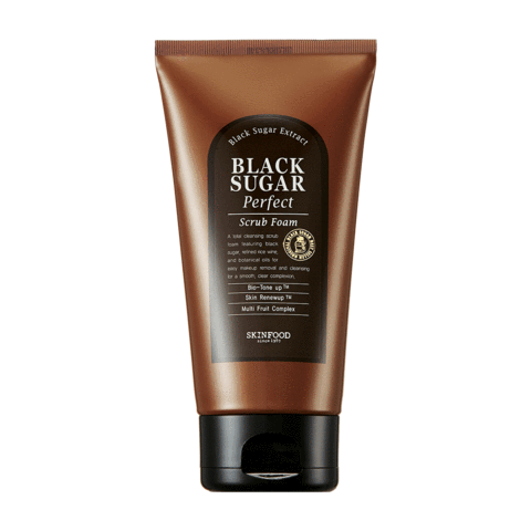 [Skinfood] Black Sugar Perfect Scrub Foam