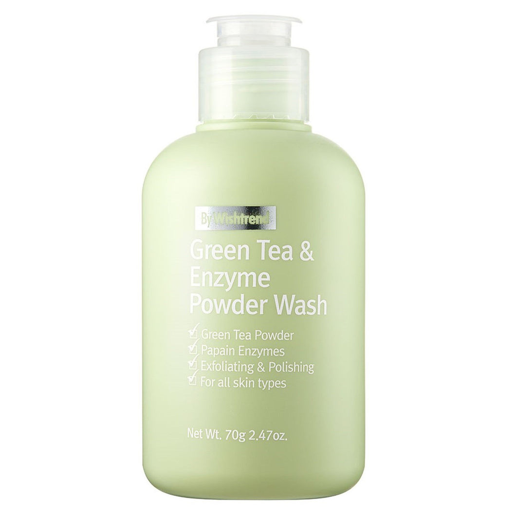 [By Wishtrend] Green Tea & Enzyme Powder Wash