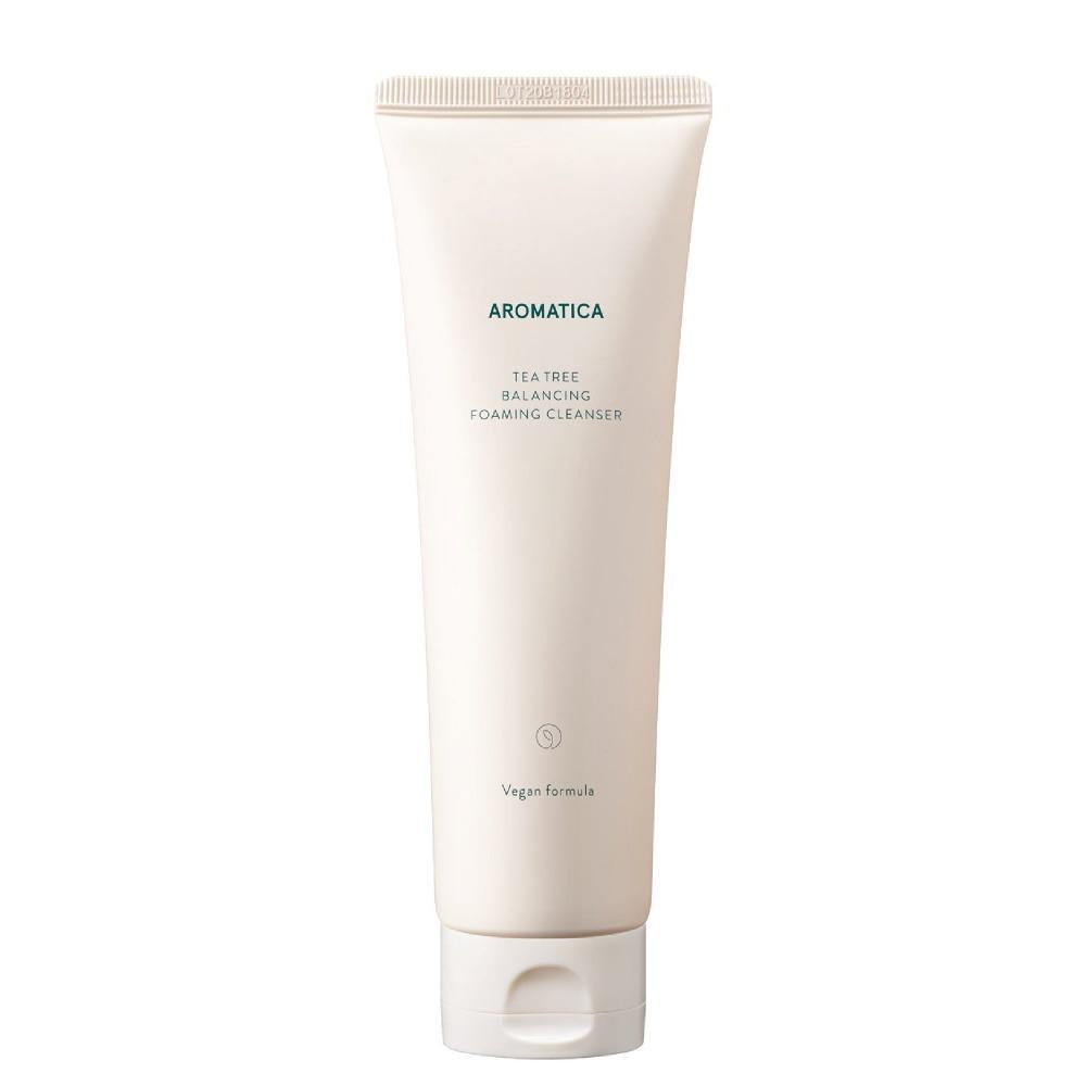 [Aromatica] Tea Tree Balancing Foaming Cleanser