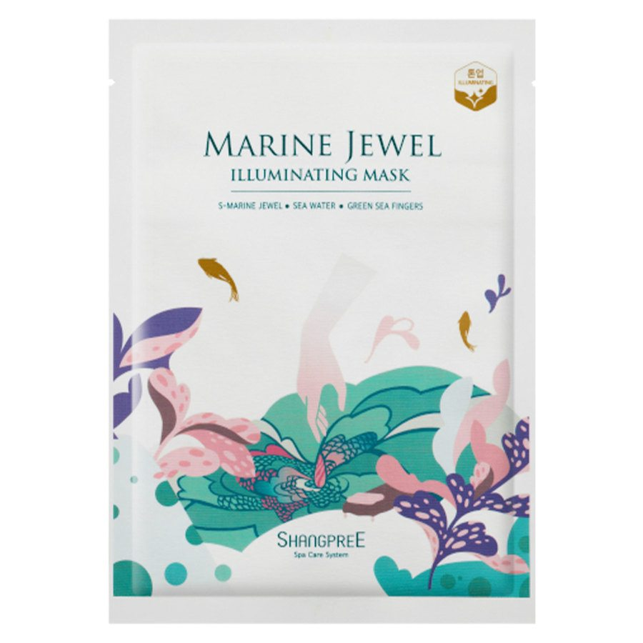[Shangpree] Marine Jewel Illuminating Mask