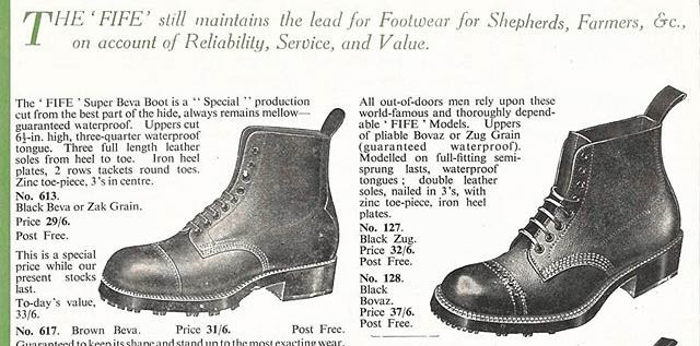 About Hoggs of Fife Walking Boots - The History