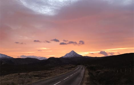 Stalking in the Scottish Highlands - The Journey North