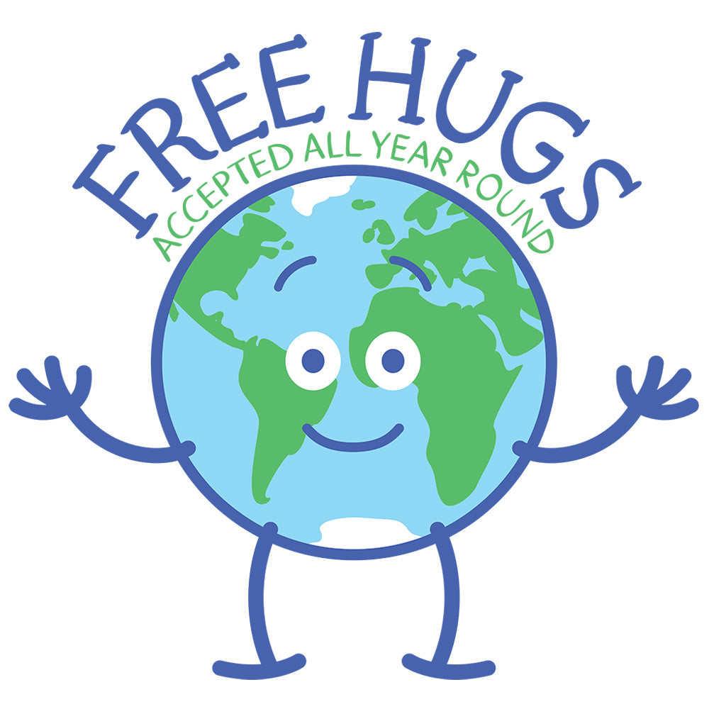 Planet Earth accepts free hugs all year round