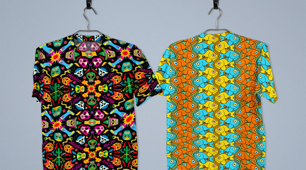 Zoo&co's designs printed on All-over print T-Shirts