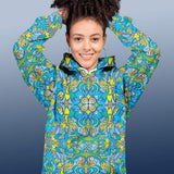 Exotic birds tropical pattern Unisex Hoodie - Zoo&co