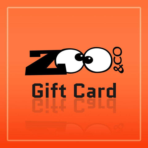 Zoo&co's Gift Card, the perfect gift for your beloved ones!