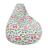 Cool insects madly in love Bean Bag Chair Cover - Zoo&co