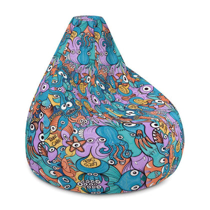 Wake up, time to take care of our sea Bean Bag Chair Cover