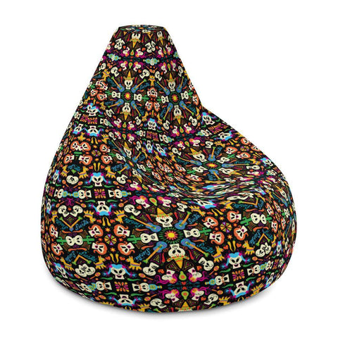 Day of the dead Mexican holiday Bean Bag Chair Cover