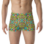 Alien monsters pattern design Boxer Briefs - Zoo&co