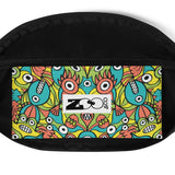 Alien monsters pattern design Fanny Pack