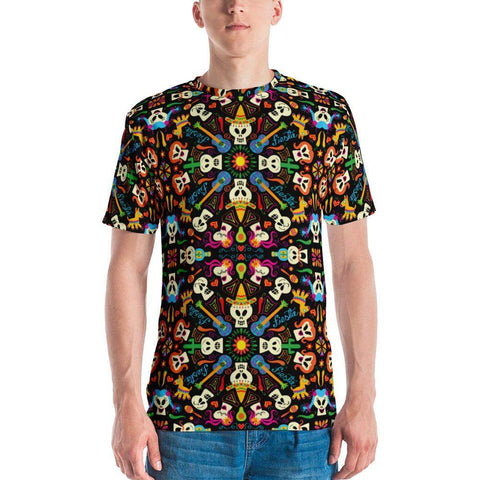 Day of the dead Mexican holiday Men's T-shirt