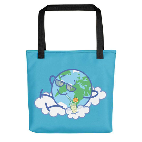 Cool Earth taking a break Tote bag