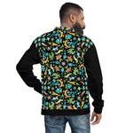 Sea creatures pattern design Unisex Bomber Jacket - Zoo&co