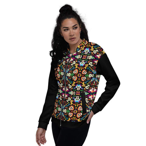 Day of the dead Mexican holiday Unisex Bomber Jacket