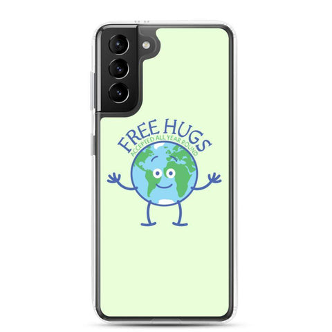 Planer Earth accepts free hugs all year round Samsung Case