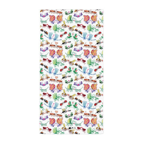 Cool insects madly in love Towel - Zoo&co