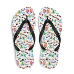 Cool insects madly in love Flip-Flops - Zoo&co