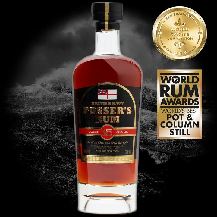 Pussers Aged 15 Year Rum