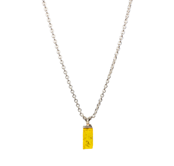 Land of Oz Yellow Brick Necklace