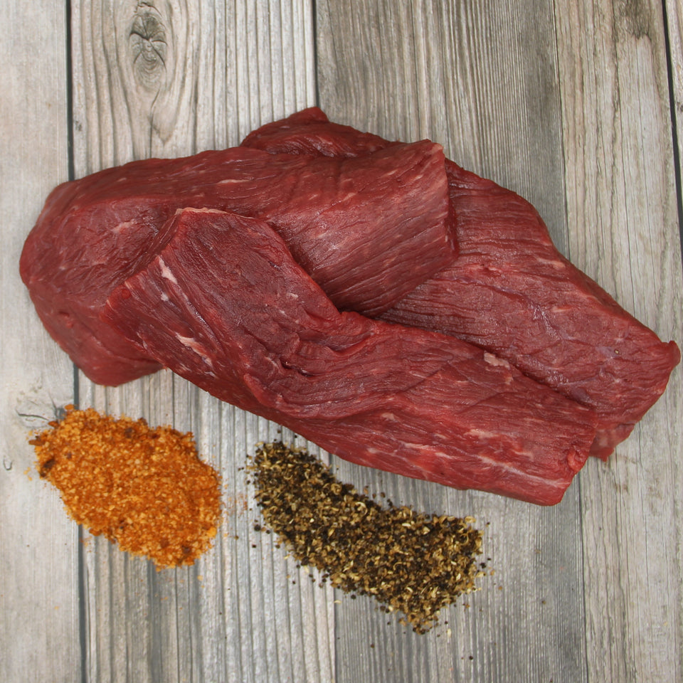 Meat and spices to make your own biltong and air dried meats