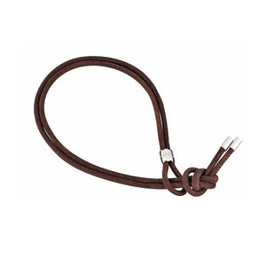 Leather bracelet, brown