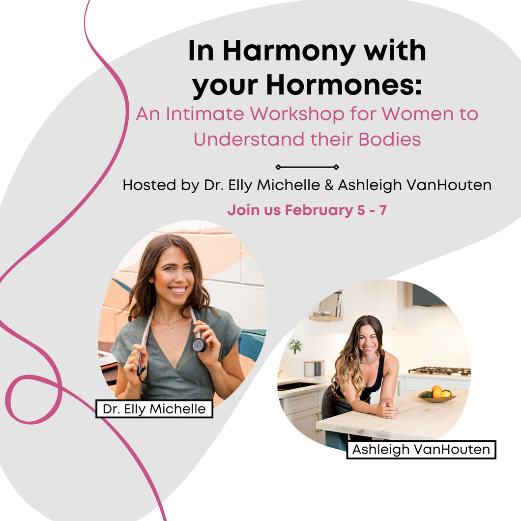 In Harmony with your Hormones digital workshop