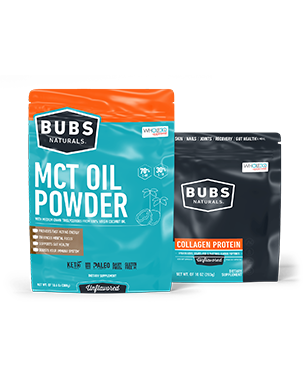 BUBS Naturals collagen and MCT