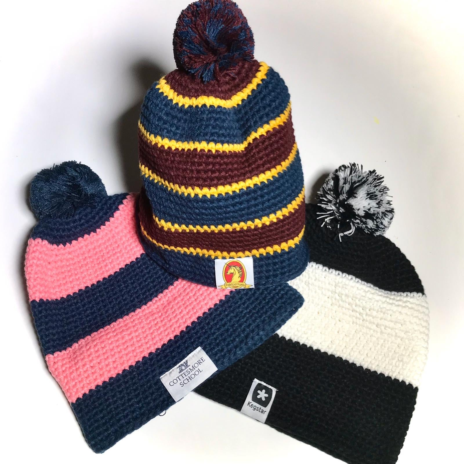 childrens bobble hat