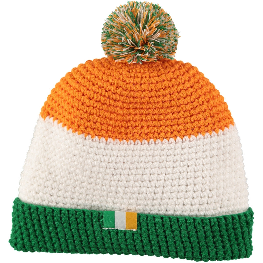 Ireland Beanie Bobble Hat  498a2408c6d