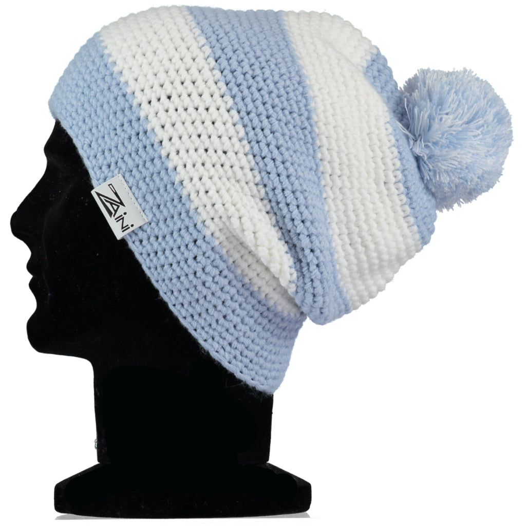 Man City BEANIE BOBBLE HAT – Zaini Hats 3e990bd41