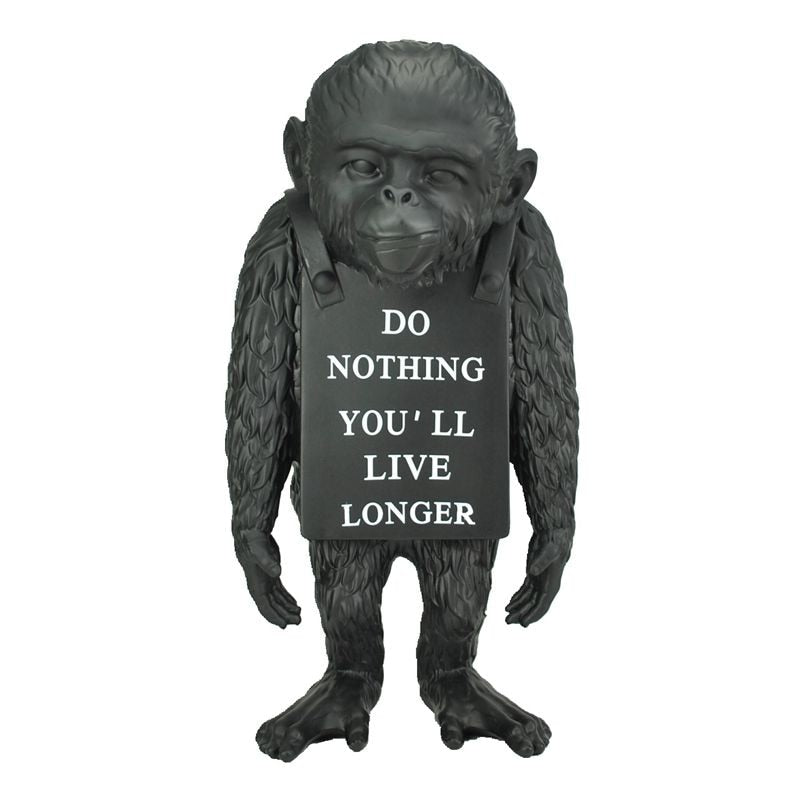 Banksy Do Nothing Monkey Sculpture