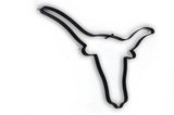 Longhorn Cow Head Metal Wall Decor and Wall Art Sculpture