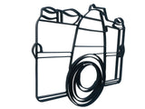 Camera metal wall art and photography wall decor