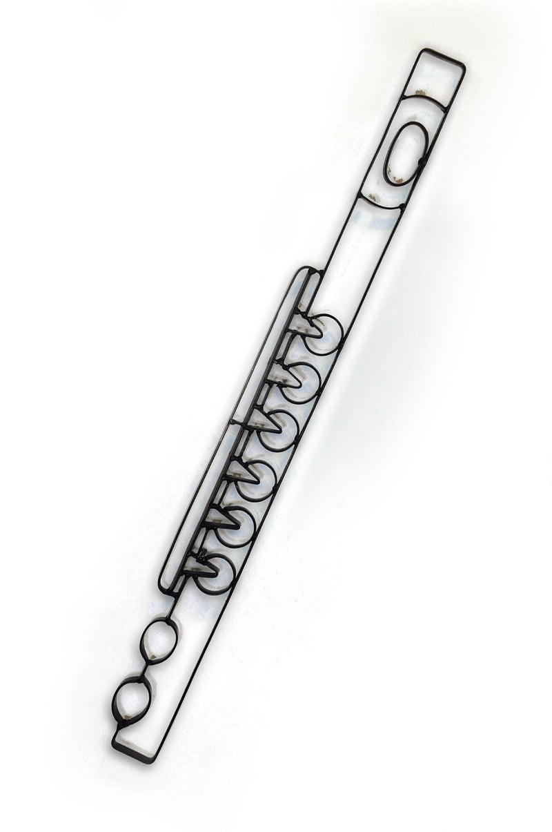 Flute Metal Wall Decor and Music Wall Art