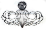 Airborne Master Jumper Metal Wall Decor