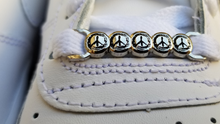 Load image into Gallery viewer, Painted Peace Shoe Charms