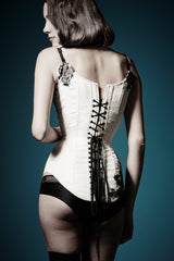 Eva corset - black and white corset sewing pattern by Ralph Pink