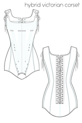 Body Armour Concept Corset Sewing Pattern Ralph Pink Patterns LARP