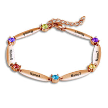 Load image into Gallery viewer, DAINTY FAMILY BRACELET