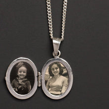 Load image into Gallery viewer, HANDWRITING LOCKET MENS NECKLACE